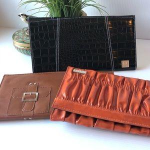 Miche Purse Covers 3 Classic Orange Black Brown